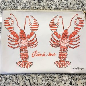 "Lilly Pulitzer ""Pinch me"" Clutch"